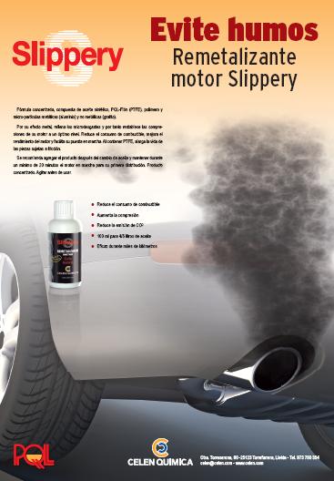 Evite Humos - Slippery Remetalizante Motor